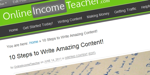 10 Steps To Write Amazing Content