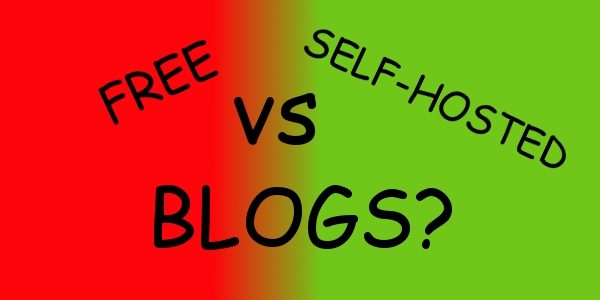 Should I start a free blog or a self hosted bog?