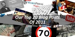 Our Top 20 Blog Posts Of 2011