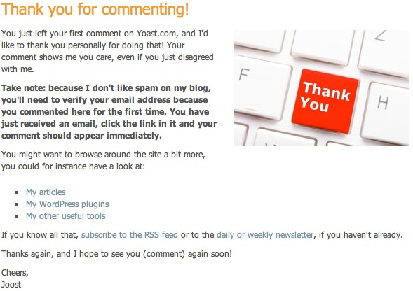 Free WordPress Plugin - Comment Redirect
