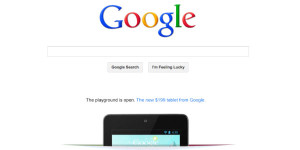 A Business Can Dream: Advertise on Google's Homepage