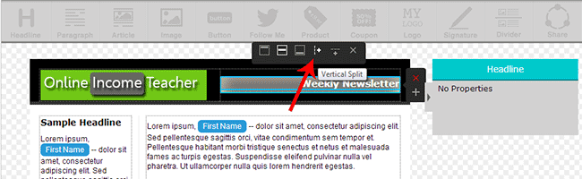 Create A Newsletter In AWeber
