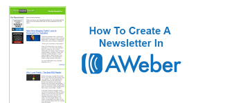 How-To-Create-a-Newsletter-In-AWeber