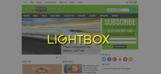 To Lightbox Or Not To Lightbox, That Is The Blogging Question