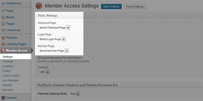 Premise-Member-Access-Settings