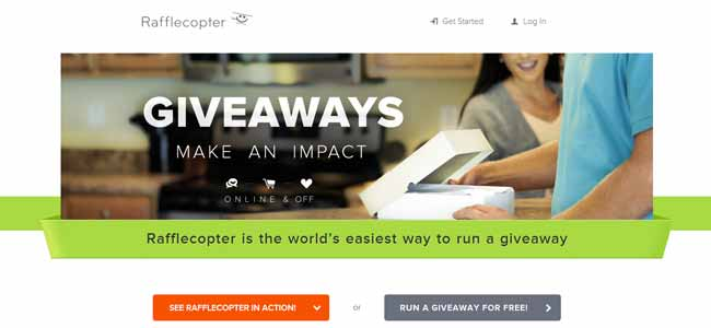 How To Run A Giveaway With Rafflecopter