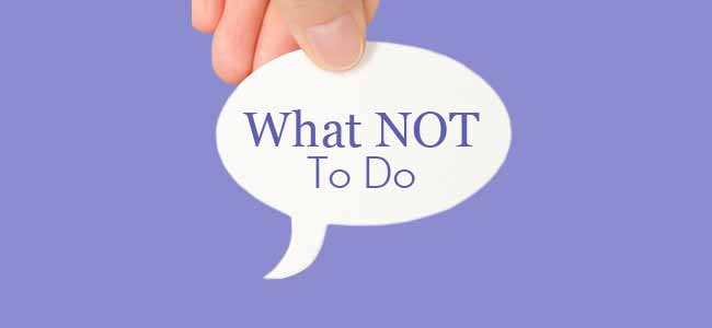 what not to do Powerpoint 101: what not to do 1 what not to do 2 some people have a tendency to put everysingle word they are going to say on theirslides to prevent the need to memorize theirspeech while this may seem like a good wayto get your point across it will only lead tocrowded slides that will bore your audience tothe point where they are no longer listeningto you but in fact they are most likely.